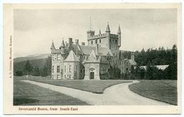 BRAEMAR : INVERCAULD HOUSE, FROM SOUTH EAST - Aberdeenshire