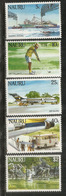 Air Nauru , Fishing Vessel, Etc  5 Timbres Neufs ** De L'île NAURU, Côte 10 Euro - Nauru