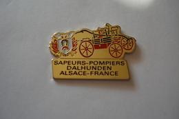 20180830-1970 ALSACE BAS RHIN SAPEURS POMPIERS DE DALHUNDEN - Firemen