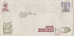 HOTEL BONANZA MALLORCA SPAIN ENVELOPPE - Hotel Labels