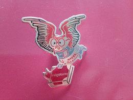 Portugal Pin Anniversaire école 1994 Avec Hibou Owl School Anniversary Pin - Animaux