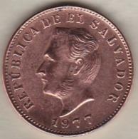 Salvador . 5 Centavos 1977. Not Listed In WORLD COINS . Non Répertorié Dans Le WORD COINS - Salvador