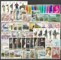 ESPAÑA AÑO 1977 COMPLETO ** NUEVO SIN FIJASELLOS - Annate Complete