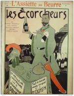 L'ASSIETTE AU BEURRE-1904-187-GRAVURES GOTTLOB GALANIS ROUBILLE-LES ECORCHEURS - Books, Magazines, Comics
