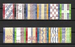2002 Netherlands Complete Set Provincie Used/gebruikt/oblitere - Periode 1980-... (Beatrix)