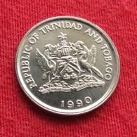 Trinidad E Tobago 10 Cents 1990 KM# 31 Trinite & Tobbacco - Trinité & Tobago