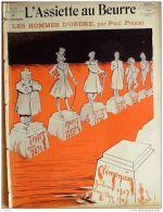 L'ASSIETTE AU BEURRE-1907-337-GRAVURES PONCET-LES HOMMES D'ORDRE - Books, Magazines, Comics