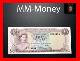 BAHAMAS ½ 0.50 $ 50 Cents 1968 P. 26 UNC - Bahamas
