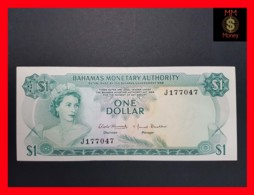 BAHAMAS 1 $ 1968 P. 27 AU \ UNC - Bahamas