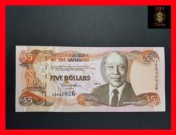 BAHAMAS 5 $ 2001 P. 63 B UNC - Bahamas