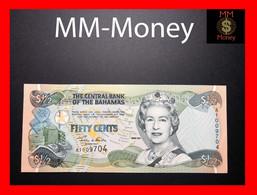 BAHAMAS ½ 0.50 $ 50 Cents 2001 P. 68 UNC - Bahamas