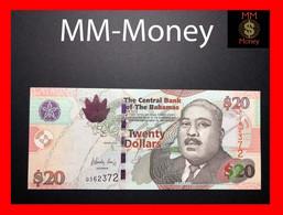 BAHAMAS 20 $ 2010 P. 74 A  UNC - Bahamas
