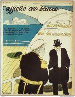 L'ASSIETTE AU BEURRE-1909-424-GRAVURES OSTOYA-LA DEBACLE De La MARINE - Livres, BD, Revues
