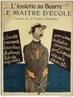 L'ASSIETTE AU BEURRE-1909-453-GRAVURES GIR-LE MAITRE D'ECOLE - Books, Magazines, Comics