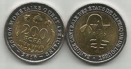 West African States 200 Francs 2010. High Grade - Monnaies