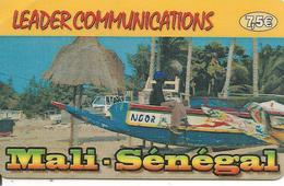 CARTE-PREPAYEE-7,5€-LEADER COMMUNICATIONS-MALI-SENEGAL-31/12/2004--TBE - Andere Voorafbetaalde Kaarten