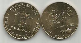 West African States 10 Francs 2000. High Grade - Autres – Afrique