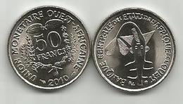 West African States 50 Francs 2010. High Grade - Autres – Afrique