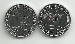 West African States 1 Francs 1997. High Grade - Autres – Afrique