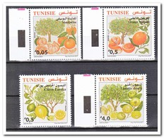 Tunesië 2017, Postfris MNH, Trees, Fruit - Tunesië (1956-...)