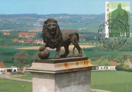 "[14190] -Carte, N° 3190, Belgique - OBL """"WATERLOO"""" - Carton Brillant - Monumenti"