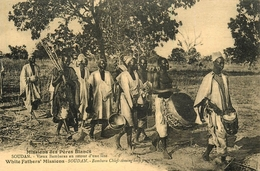 Soudan - Sudan - Bambara Chiefscoming Bach From A Feast - Ethnic Ethno - Belle Animation - AA75 - Soudan