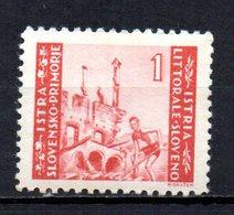ITALIA ISTRIA OCC LITORALE SLOVENO 1945/6 MINT MNH At - Yugoslavian Occ.: Istria