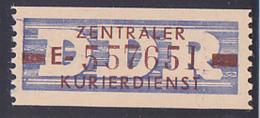 DDR -ZKD 10 Pf Wertstreifen B20E Nachdruck Postfrisch Nr. 557651, Jede Marke Mit Der Nr. Ein Unikat - Service