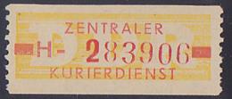 DDR -ZKD 10 Pf Wertstreifen B18IH Nachdruck Postfrisch Nr. 283906, Jede Marke Mit Der Nr. Ein Unikat - Service