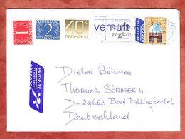 Brief, MiF Gebaeude U.a., Amsterdam Nach Bad Fallingbostel 2005 (56659) - Storia Postale