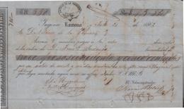 E6174 CUBA SPAIN ESPAÑA. 1862. SUGAR MILLS RAMONA. INGENIO RAMONA. - Documentos Históricos