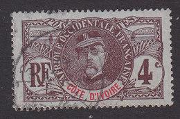 Ivory Coast, Scott 23, Used, Gen Louis Faidherbe, Issued 1906 - Ivory Coast (1892-1944)