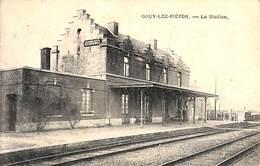 Gouy-lez-Piéton - La Station (animée, 1920, Préaux) - Courcelles