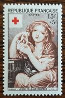 YT N°1007 - Croix Rouge - 1954 - Neuf - Frankreich