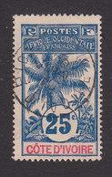 Ivory Coast, Scott 27, Used, Oil Palm, Issued 1906 - Ivory Coast (1892-1944)