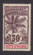 Ivory Coast, Scott 28, Used, Oil Palm, Issued 1906 - Ivory Coast (1892-1944)