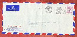 Brief, Coates, EF Queen Elizabeth, MS Buy Stamps In Books Weybridge 1961 (56670) - Covers & Documents