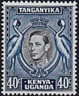 A1224 KENYA UGANDA TANGANYIKA 1938 - 1952, SG 143 40c  Definitive,  Mounted Mint - Kenya, Uganda & Tanganyika