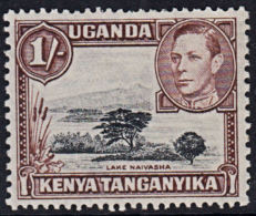 C0468 KENYA UGANDA TANGANYIKA 1938, SG 145 1s Definitive P13 X 11¾  Mounted Mint - Kenya, Uganda & Tanganyika