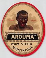 """08311 """"AROUMA - RHUM VIEUX MARTINIQUE"""" ETICHETTA ORIG - Rhum"""