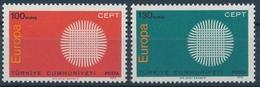 Türkei 2179-2180 - Postfrisch/** - 1970