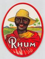 "08313 ""RHUM VIEUX"" ETICHETTA ORIG - Rhum"