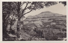 Postcard Sant Llorenc Del Munt Turo De Montcau My Ref  B12423 - Other