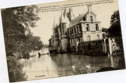 Dt 51 ESTERNAY - Le Château Ayant Servi D'hôpital Temporaire Pour Les Blessés... Les 6 Et 7 Septembre 1914 - Esternay