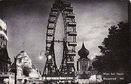 AK Wien Bei Nacht - Prater - Riesenrad - 1957 (36277) - Prater