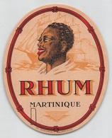 """08315 """"RHUM MARTINIQUE"""" ETICHETTA ORIG - Rhum"""
