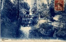 Dt 45 ESCRENNES - Le Pont Rustique Et La Rivière De L'OEUF - France