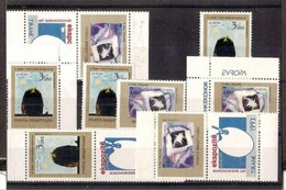 1993 Polonia Polen EUROPA CEPT EUROPE 4 Serie Di 2v. Nuove S.g. NO GUM - 1993