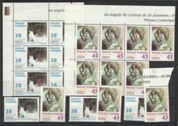 1993 Andorra Spagnola Spanish EUROPA CEPT EUROPE 24 Serie Di 2v. MNH** - 1993