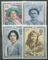 Großbritannien 1990 90. Geburtstag Königinmutter Elisabeth 1275/78 Postfrisch - 1952-.... (Elizabeth II)